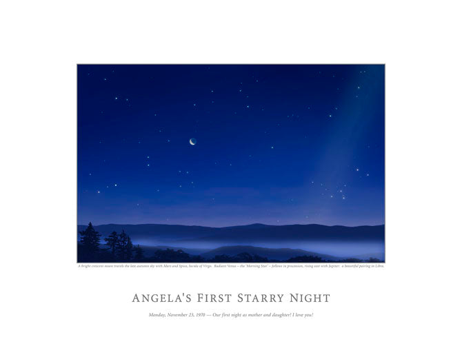 Angela's First Starry Night