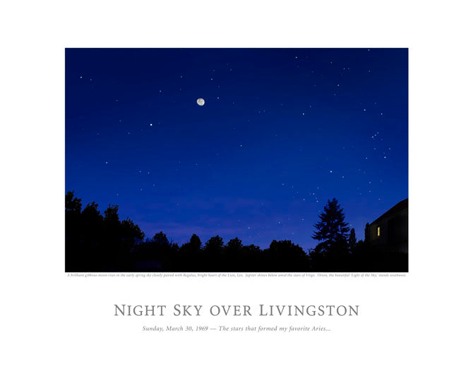 Night Sky Over Livingston