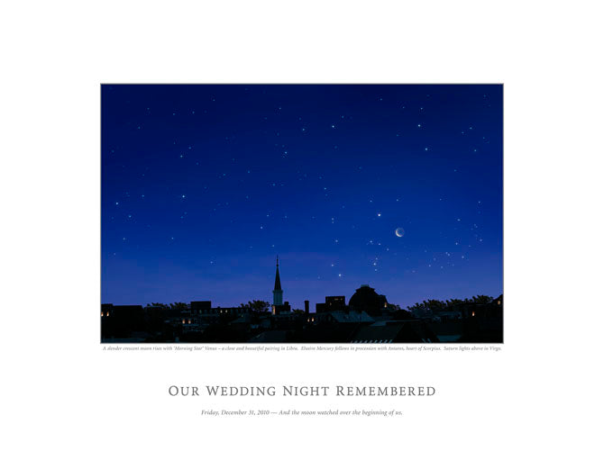 Our Wedding Night Remembered