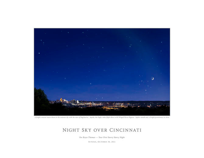 Night Sky Over Cincinatti