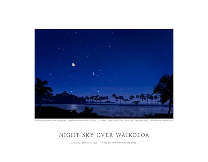 Night Sky Over Waikoloa