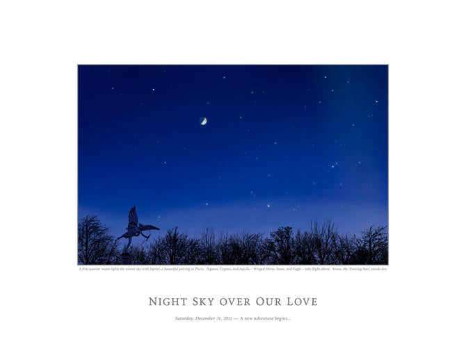 Night Sky Over Our Love