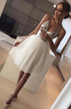 Load image into Gallery viewer, [ Pag ]Spaghetti Straps Hoco Dress Short Prom Dress Party Dress