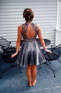 [ Enid ]Beading HOCO Dress Short Prom Dress Party Dress