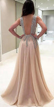 Load image into Gallery viewer, [ Sue ] Tulle Beading Bling Wedding Dress Prom Dress