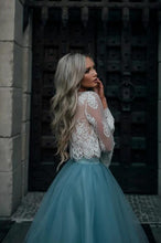 Load image into Gallery viewer, [ Erin ]Lace and Tulle Short Prom Dress Party Dress HOCO Dress Bridesmaid Dresses