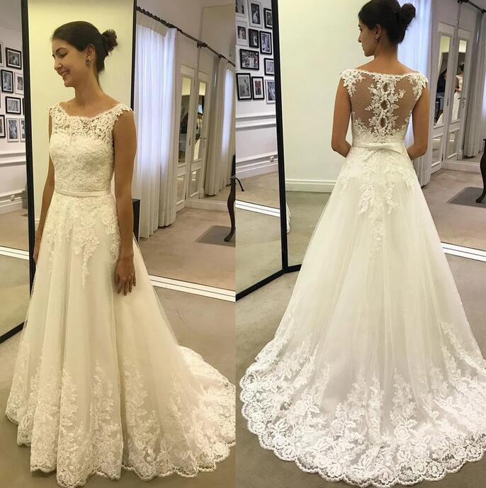 [ Tammy ] Vintage Lace Wedding Dress Custom Made
