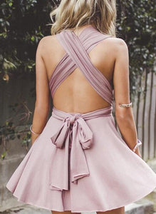 [ Lisa ]Maxi Dress Short Prom Dress Party Dress Bridesmaid Dresses