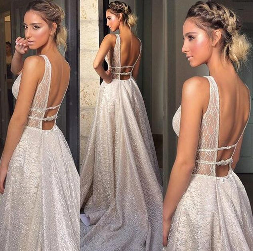[ Elsie ] Champagne Women Formal Evening Party Gown Prom dress