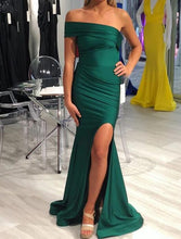 Load image into Gallery viewer, [ Simona ] One-Shoulder Prom Dress Evening Dress
