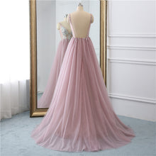 Load image into Gallery viewer, [ Yolanda ] Beaded Top Tulle Prom Dress