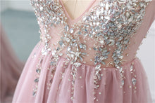 Load image into Gallery viewer, [ Constance ] Beading Top A-line Style Prom Dress