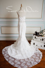 Load image into Gallery viewer, [ Helen ] Vintage Lace Wedding Dress Sweetheart Mermaid Bridal Gown