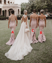 Load image into Gallery viewer, [ Callia ] Lace Bridesmaid Dress Queen Prom Dress Evening dress
