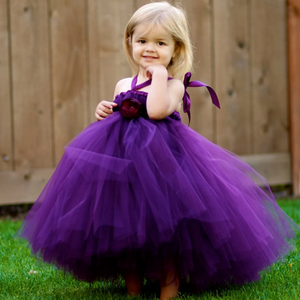 [Little Judy]Tutu Dress Flower Girl Dress Prom Dress Birthday Party Dress