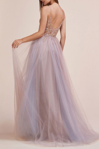 [ Candice ] Spaghetti Straps Dress Tulle Wedding Dress Prom Dress