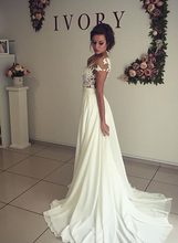Load image into Gallery viewer, [ Alva ] Vintage Lace Wedding Dress Custom Made
