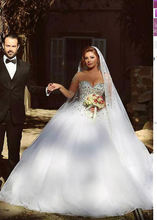 Load image into Gallery viewer, [ Antonia ] Luxury Tulle Wedding Dress Sweetheart Bridal Gown Custom Made