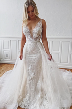 Load image into Gallery viewer, [ Irma ] Vintage Mermaid Lace Wedding Dress Tailor-Made Gown