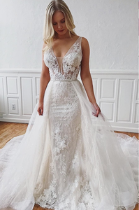 [ Irma ] Vintage Mermaid Lace Wedding Dress Tailor-Made Gown
