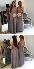 Load image into Gallery viewer, [ Giselle] Lace Bridesmaid Dresses  Formal Evening Party Gown Prom Dress