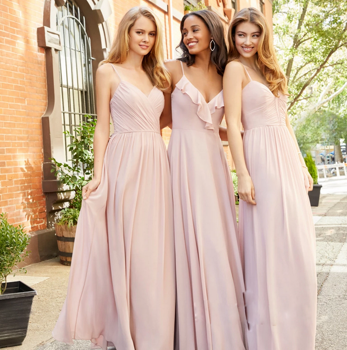 [ Fay ] Maxi Bridesmaid Dress Queen Prom Dress Evening dress