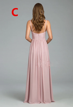 Load image into Gallery viewer, [ Fay ] Maxi Bridesmaid Dress Queen Prom Dress Evening dress