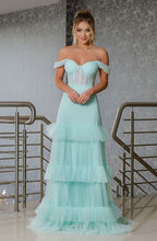 Load image into Gallery viewer, [ Crystal ] Corset Top Tulle  Prom Dress