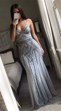 Load image into Gallery viewer, [ Rosalia ] Sexy Women Mermaid Formal Evening Party Gown Prom Dress
