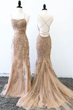 Load image into Gallery viewer, [ Miranda ] Lace Prom Dress Evening Dress Custom Bridal Gown