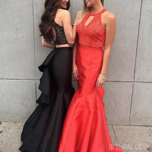 [ Tracy ]Mermaid Two piece Prom Dress Evening dress Cocktail Dress