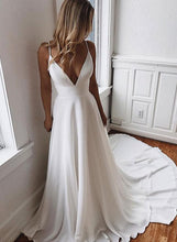 Load image into Gallery viewer, [ Aimee ]Spaghetti Straps Prom Dress Bridal Gown Custom Made