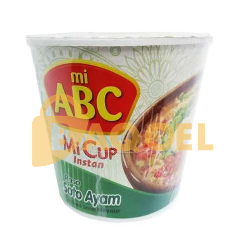 ABC Mie Cup 90gr all variant 3 pcs