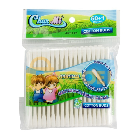 Charmi Cotton Buds 127 [12 pack]