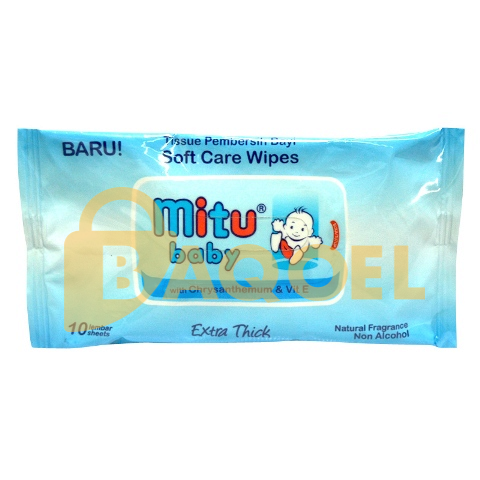 Mitu Baby Wipes 10s