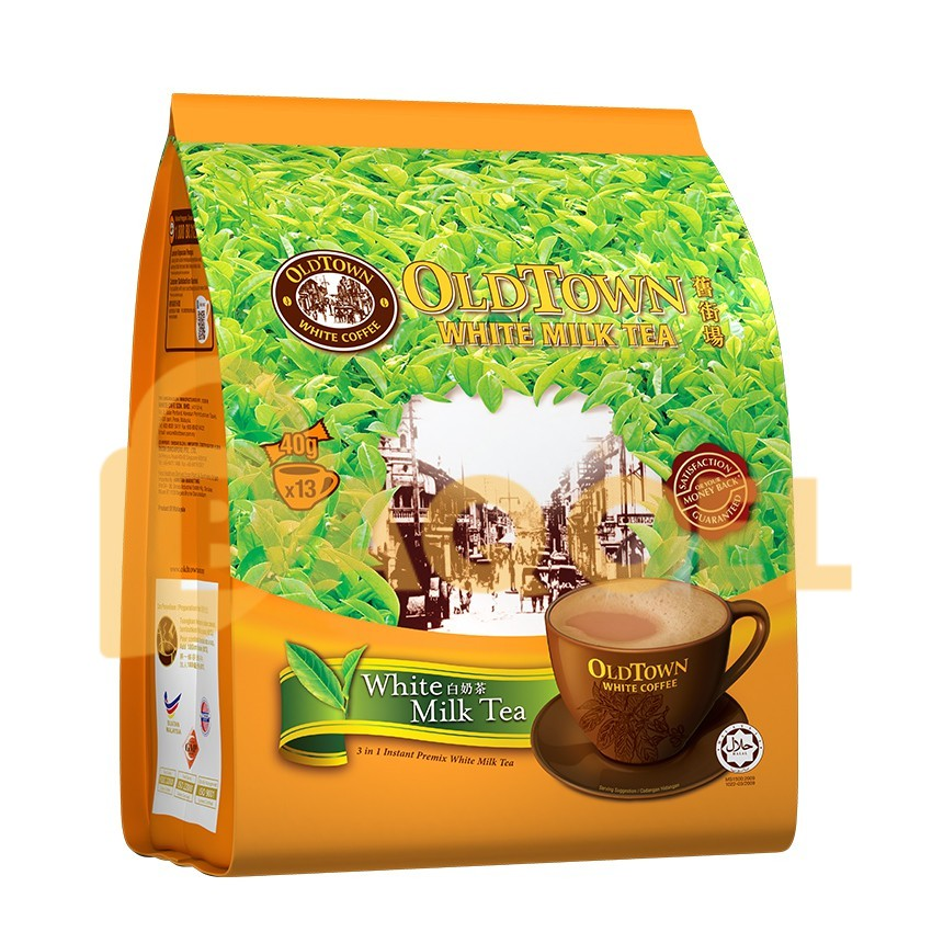 Old Town White Coffee & Creamer 15x25gr