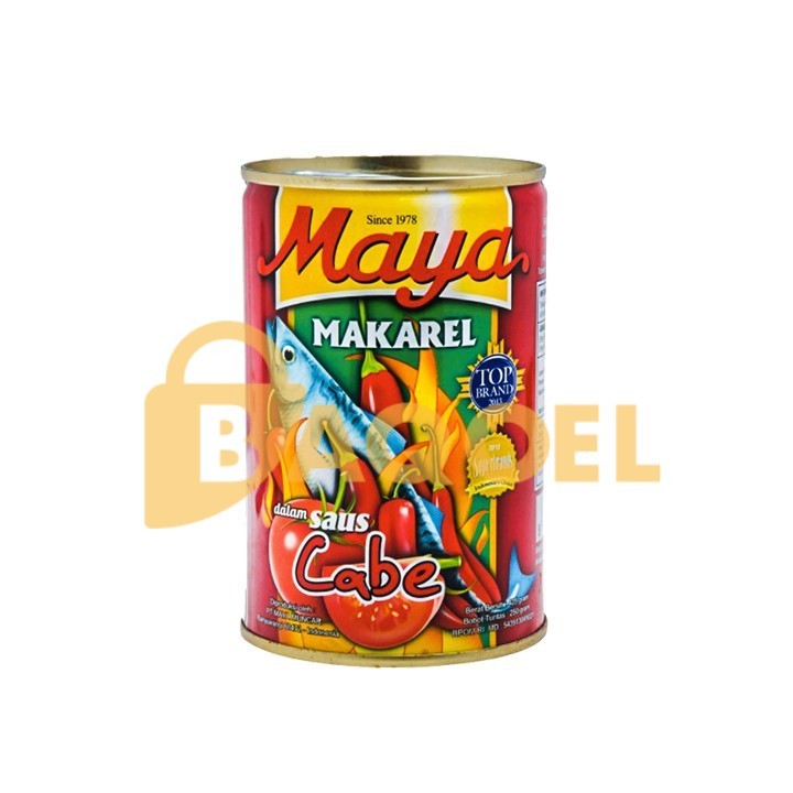 Maya Mackerel Chili 425gr