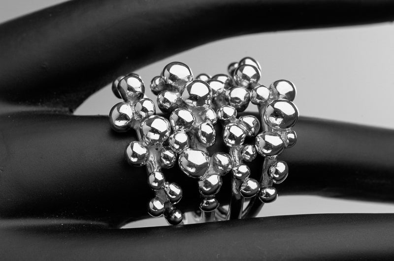 Ball Cascade Ring