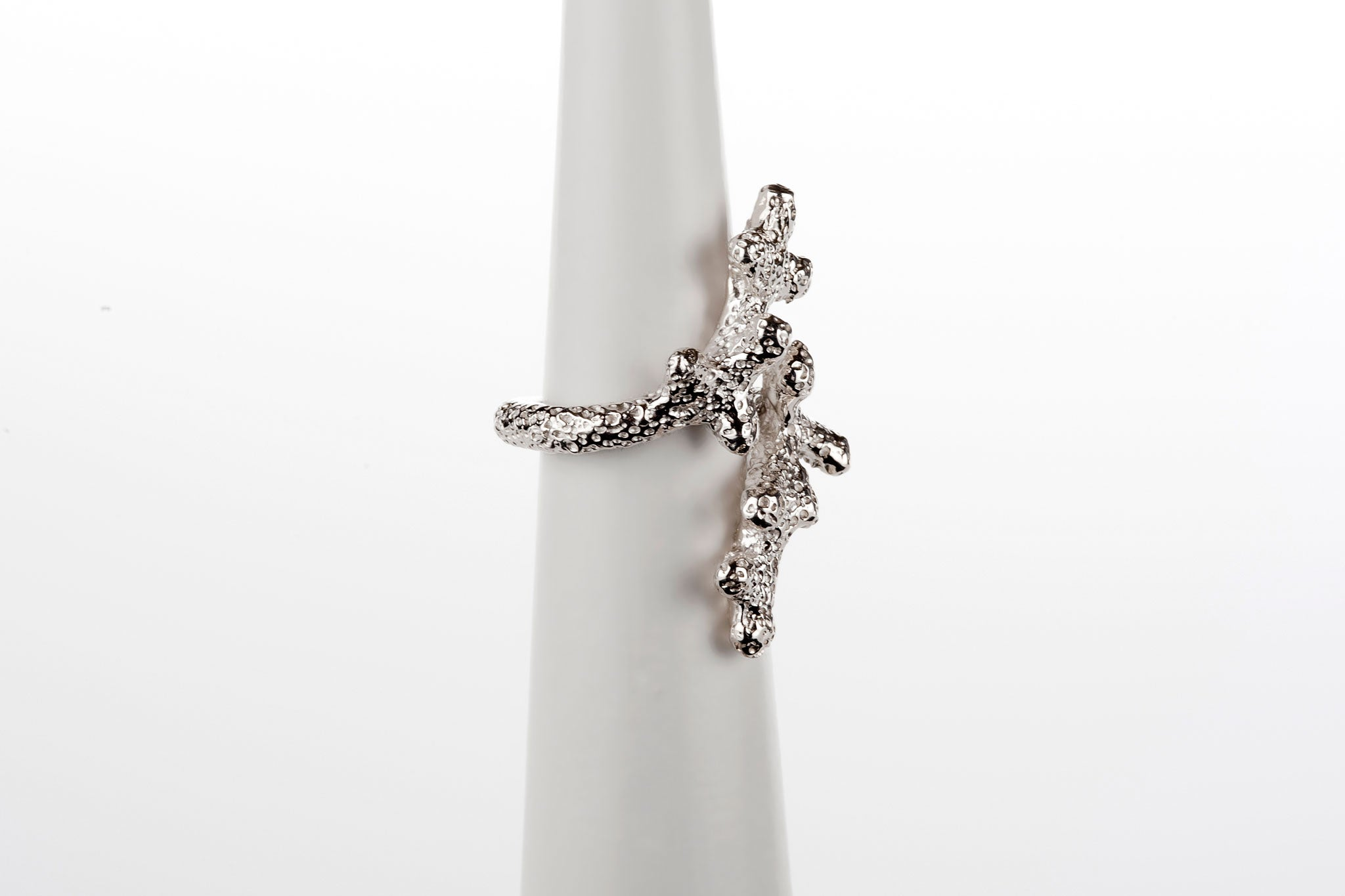 Coral Twig Ring