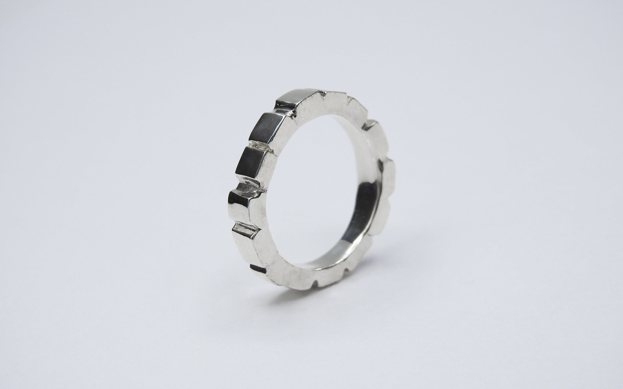 Mosaic Stick Ring Femme