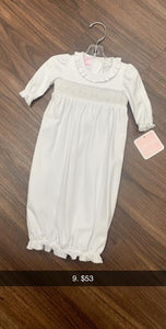 Petit Bebe White Gown
