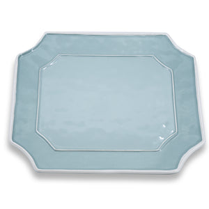 VIDA Charleston Blue Rectangular Platter - LARGE