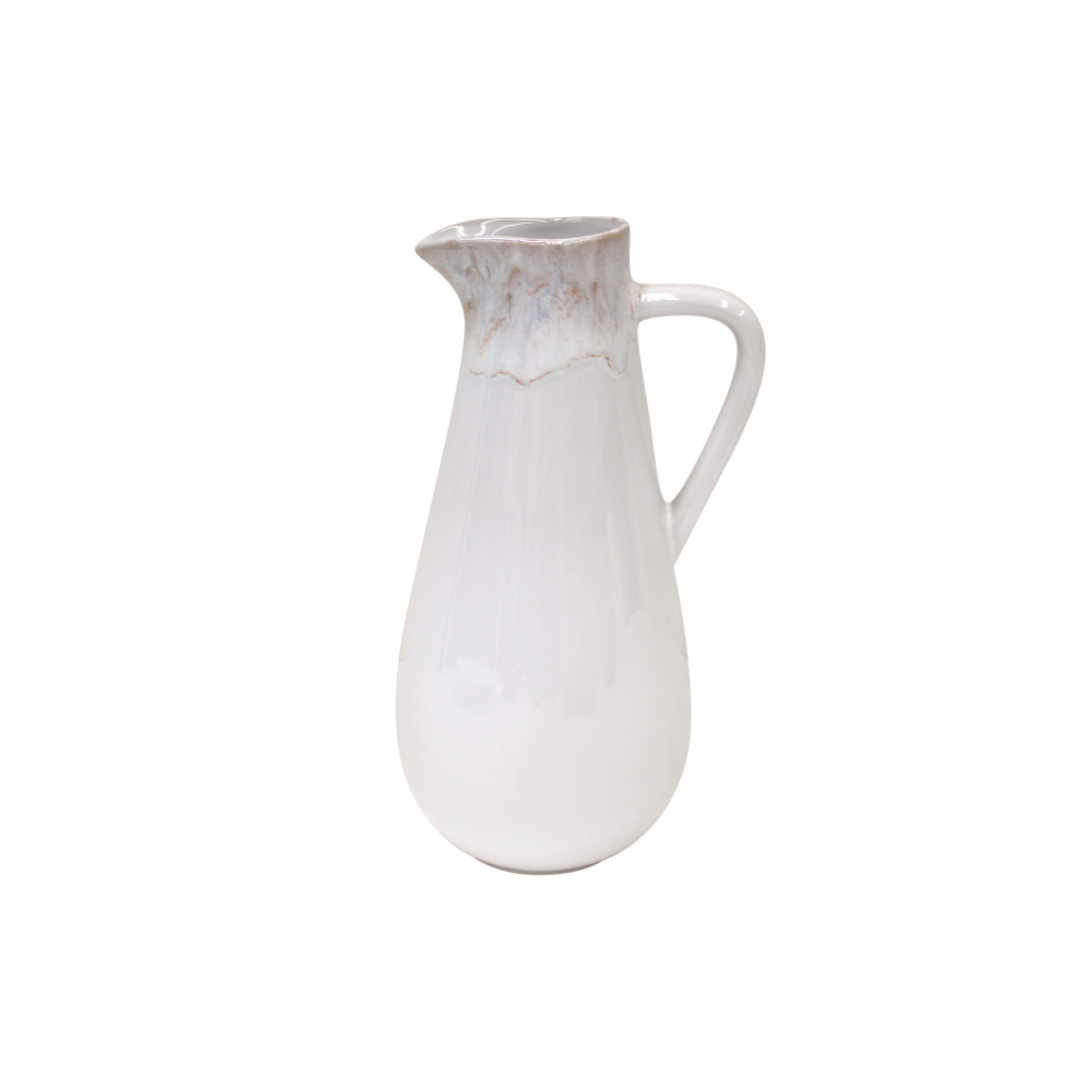 Casafina Taormina White Pitcher