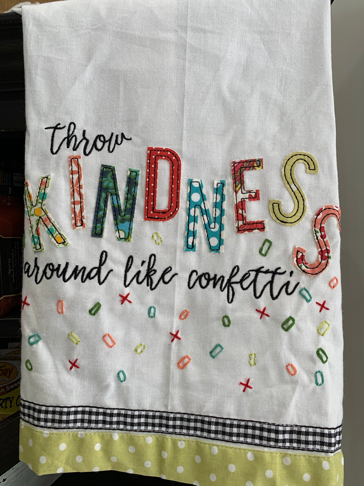 Tea Towel - Throw Kindness Around