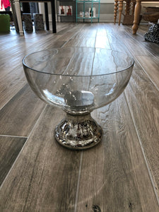 Glass Vase / Candle Holder