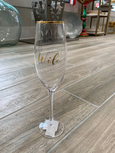 Load image into Gallery viewer, Husband & Wife Champagne glasses