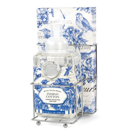 Indigo Cotton Foaming Soap Napkin Set