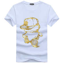 Load image into Gallery viewer, summer t shirt men o-neck cotton comfortable t-shirt Casual homme Short sleeve Printing - winningway