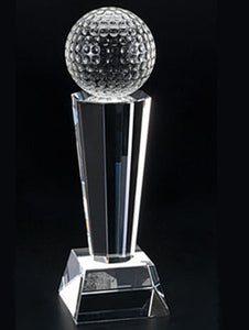 WCT-01 Golf Ball Crystal Award Trophy - winningway