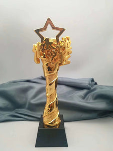 WMT-09 Metal Star Design Trophy Award - winningway